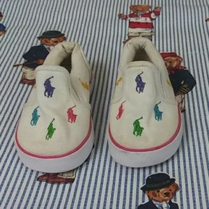 Ralph Lauren polo toddler shoes size 4